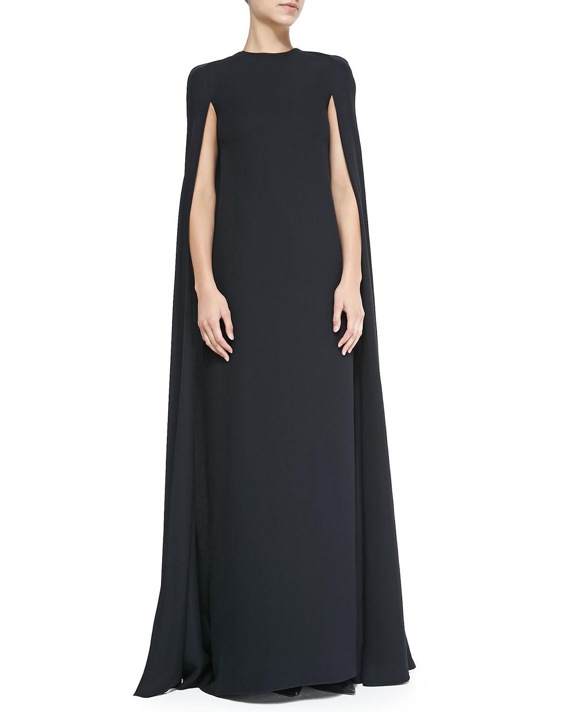 Valentino Cape Gown Neiman Marcus