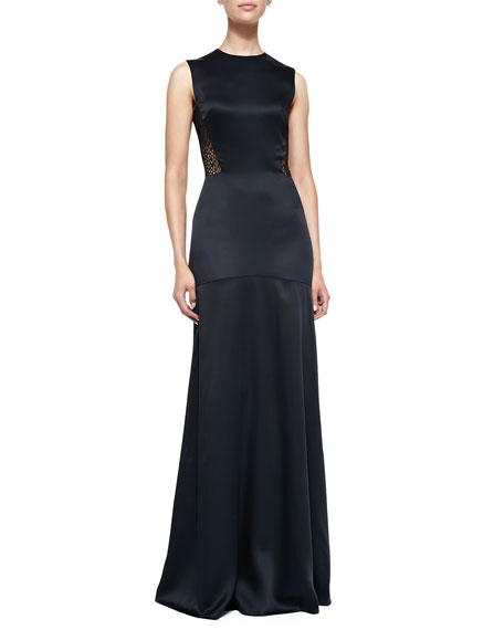 Jason Wu Sleeveless Gown W/ Eyelet Lace Back