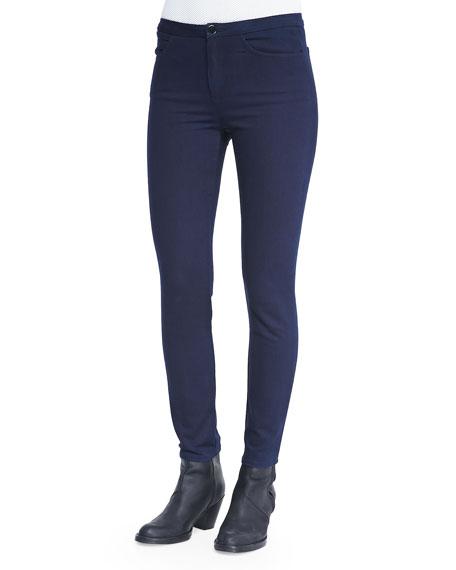 Acne Studios Slim-Waist Skinny Jeans, Indigo