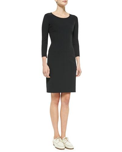 THE ROW Scoop-Neck Jersey Dress