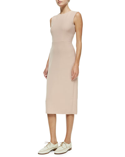 THE ROW Classic Sleeveless Fitted Dress
