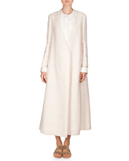 Textured Cotton Talico Coat