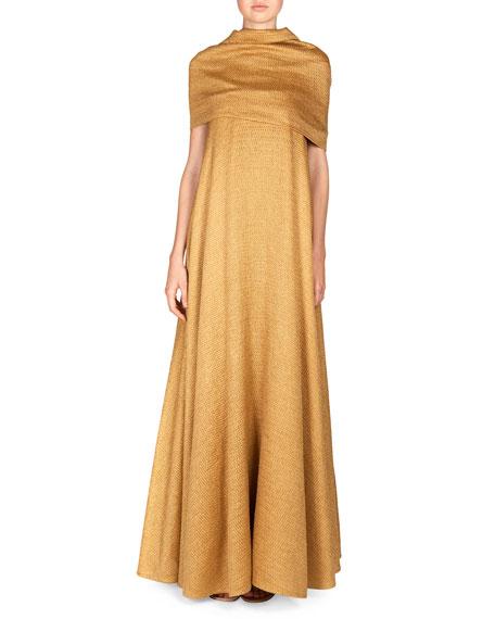 THE ROW Saliana Linen-Blend Net Dress