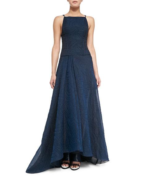 Jason Wu Organza Jacquard Ball Gown