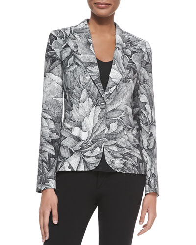 Thilo Westermann Flower Blazer, Black