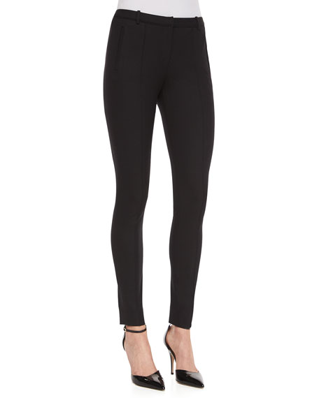 Jason Wu Stovepipe Vertical-Seam Pants