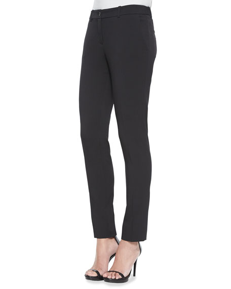 Michael Kors Collection Skinny Stretch-Wool Dress Pants