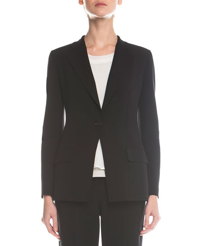 Double-Faced Toggle Blazer