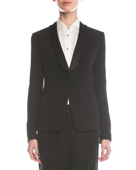 Giorgio Armani Single-Button Tuxedo Jacket