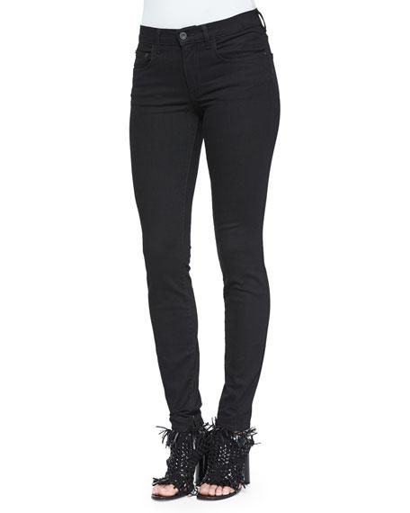 Proenza Schouler Ultra-Skinny Denim Jeans, Black