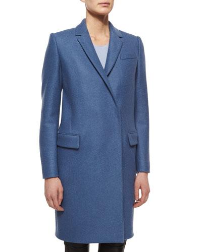 Oversized Blazer-Style Coat