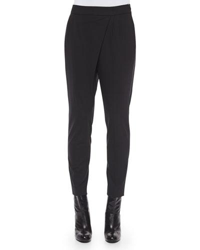 Sarong-Style Cropped Pants