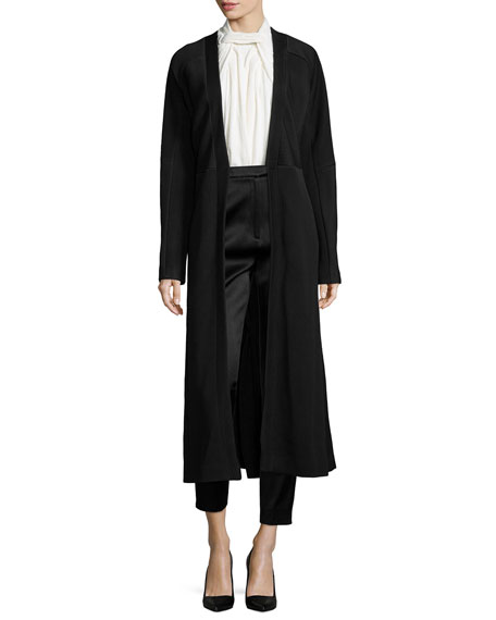 Jason Wu Matelasse Fitted Long Coat
