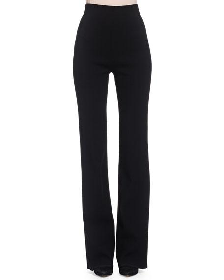 Donna Karan High-Waisted Stretch Ponte Pants
