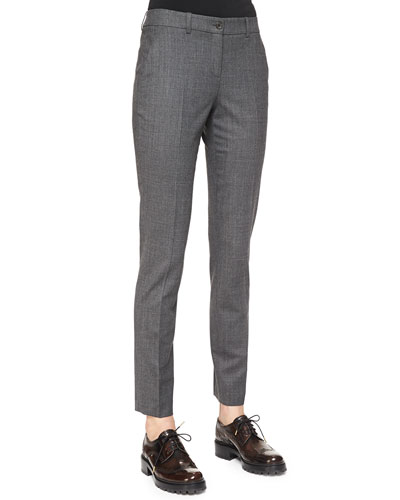 Skinny Woven Ankle Pants