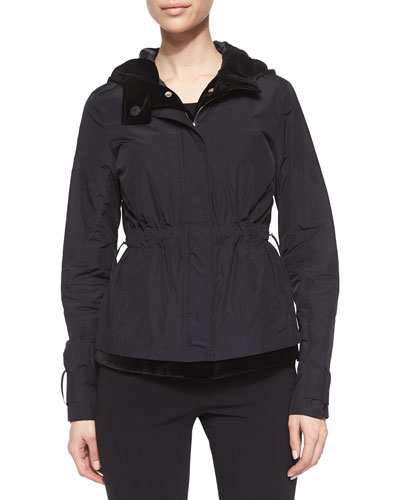 Three-In-One Lightweight Hooded Jacket