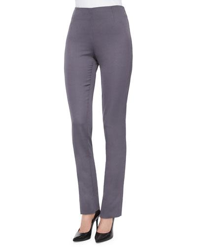 Catherine Side-Zip Pants