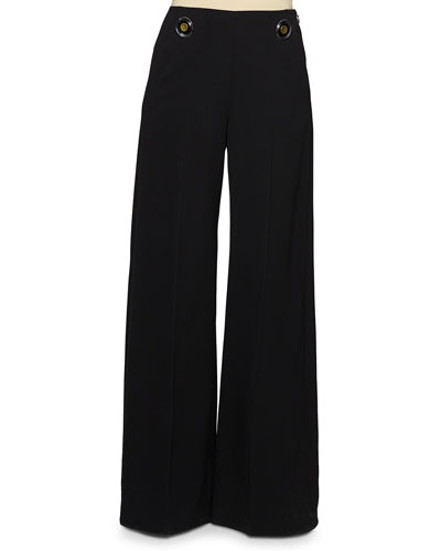 High-Waisted Sailor Pants