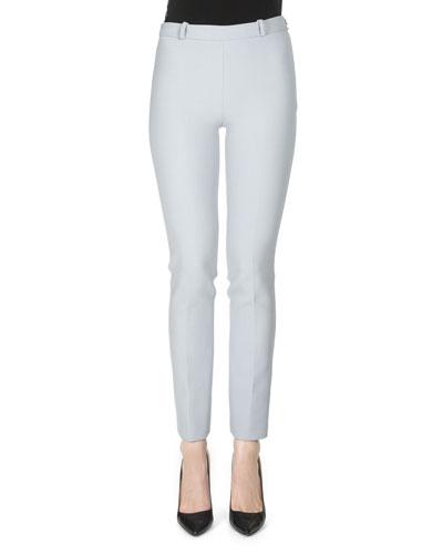 Truvan Skinny-Leg Trousers, Pale Blue