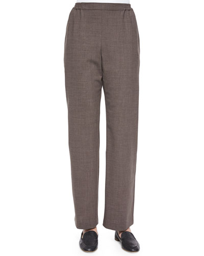 Stretch Lightweight Wool Trousers