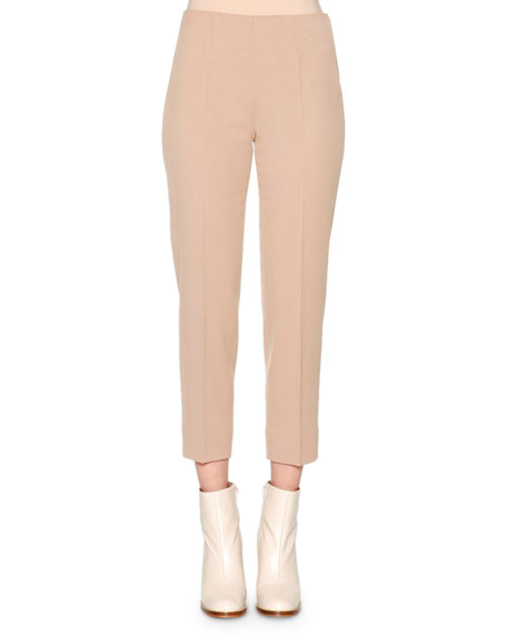 Piazza Sempione Audrey Twill Cropped Pants