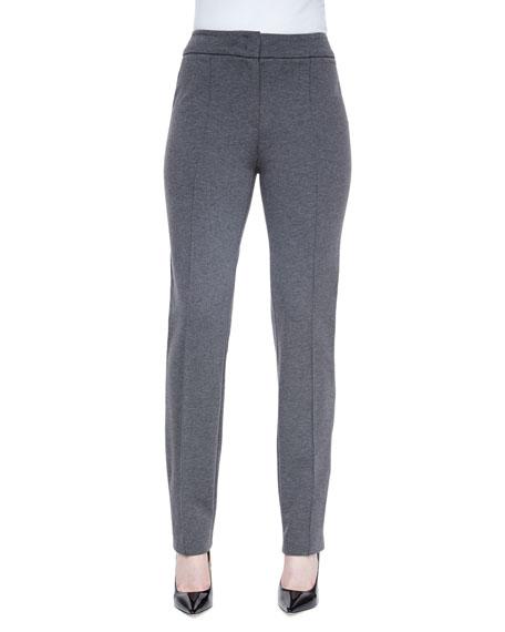 Escada Narrow-Leg Jersey Trousers