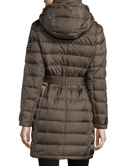 Winterleigh Mid-Length Puffer Coat