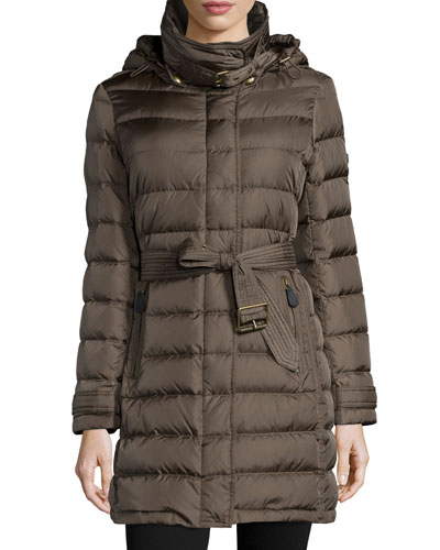 Winterleigh Mid-Length Puffer Coat