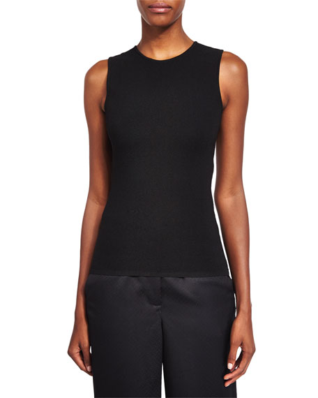 Alexander Wang Ball & Chain Spine Sleeveless Sweater,