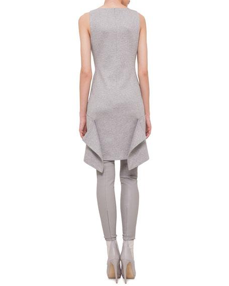 Scoop-Neck Apron Dress