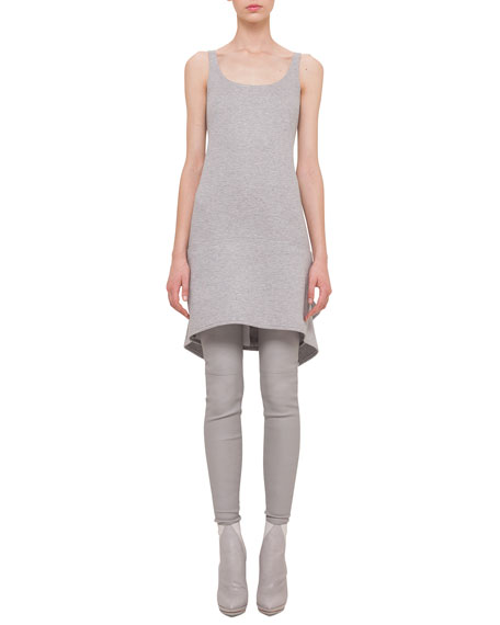 Akris Scoop-Neck Apron Dress