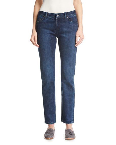 Loro Piana Washed Stretch Denim Jeans