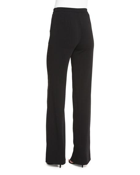 Diana Classic Cady Wide-Leg Sailor Pants