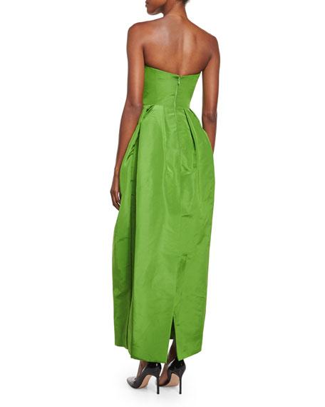 Strapless Sweetheart Full-Skirt Gown