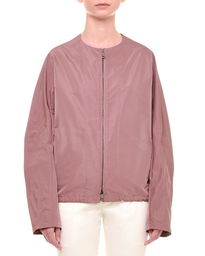 Radzimir Long-Sleeve Jacket, Mauve