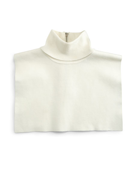 Turtleneck Dickie, White
