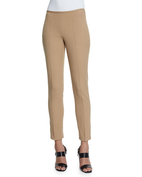 Michael Kors Collection Mid-Rise Skinny Pants, Dune