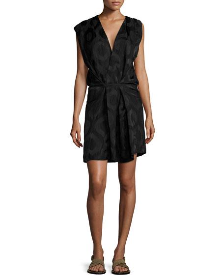 Isabel Marant Sleeveless Wrap Dress, Black