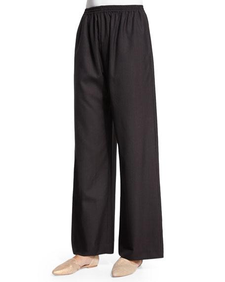 eskandar Wide-Leg Trousers, Brown