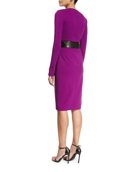 Long Sleeve Cocktail Dress J. Mendel Outlet Store Cheap Online Sale Manchester Great Sale Exclusive Big Discount bxGFRE