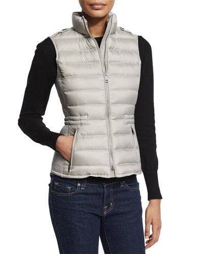 Cranstead Puffer Vest, Gray
