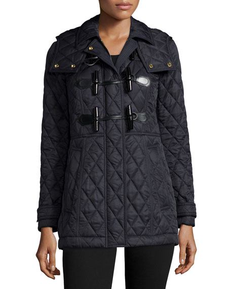 Burberry Blackston Quilted Duffle Coat