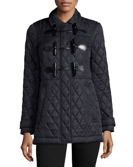 Burberry Brit Blackston Quilted Duffle Coat