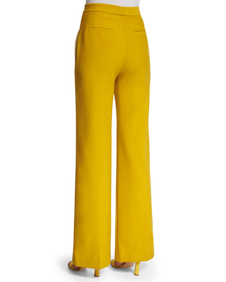 7th Avenue Pant - Yellow Wide-Leg - All-Season Stretch. Versatile and designed to move with you! Look on the bright side! A sunny shade of yellow enlivens our tailored pant - we love the always-flattering wide-leg silhouette. 2-way stretch. Shaping. Seasonless fabric. Overview/5(21).