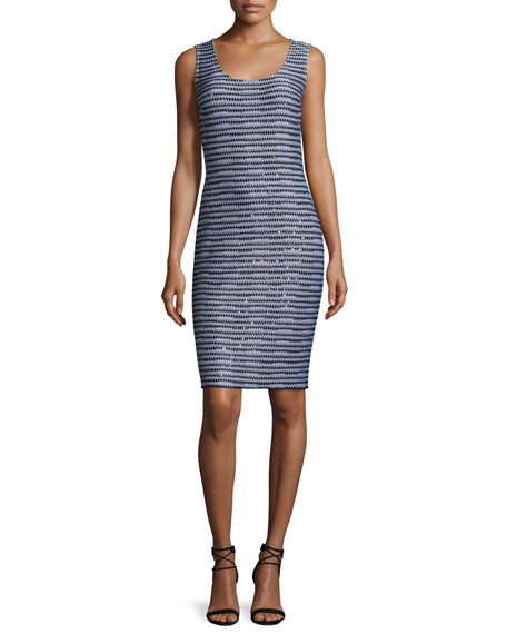 St. John Collection San Pietro Scoop-Neck Sheath Dress,