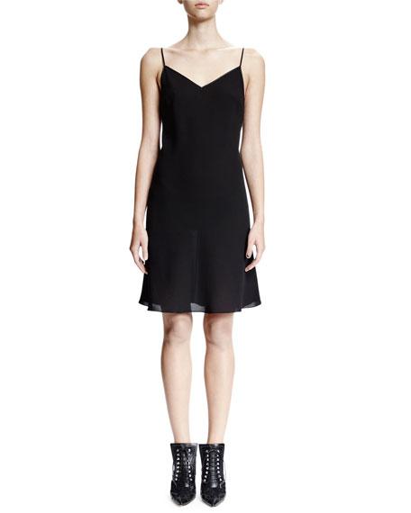 Givenchy Sleeveless Slip Dress, Black