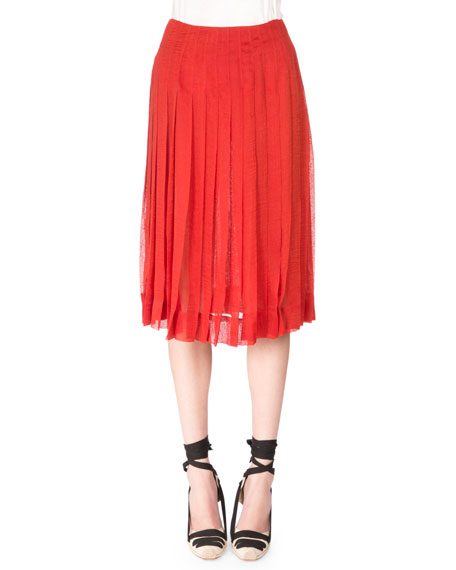 Altuzarra Zurina Pleated Skirt, Windsor