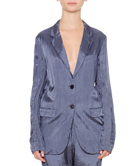 Jil Sander Artaud Two-Button Jacket & Anniball Slim-Leg