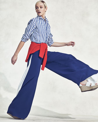 The Wide-Leg Pant