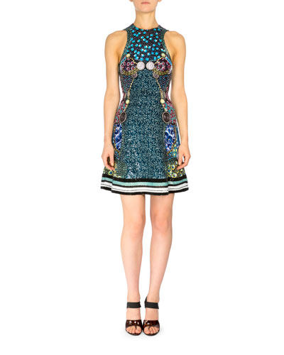 Azalea Sleeveless Embellished Dress, Cosmo